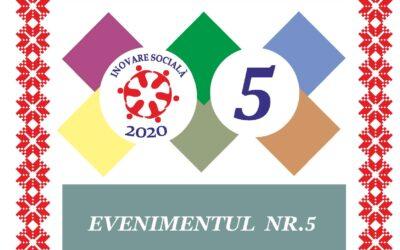 Dezvoltarea clusterului de economie socială din perspectiva principiilor orizontale – Evenimentul nr. 5