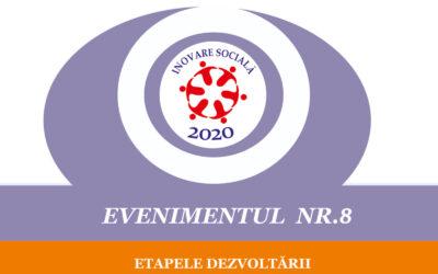 Evenimentul nr. 8 – Etapele dezvoltării clusterului de economie socială
